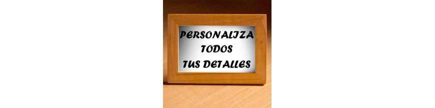 Personaliza detalles para empresa